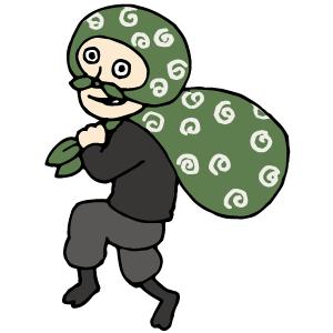 泥棒のイラスト