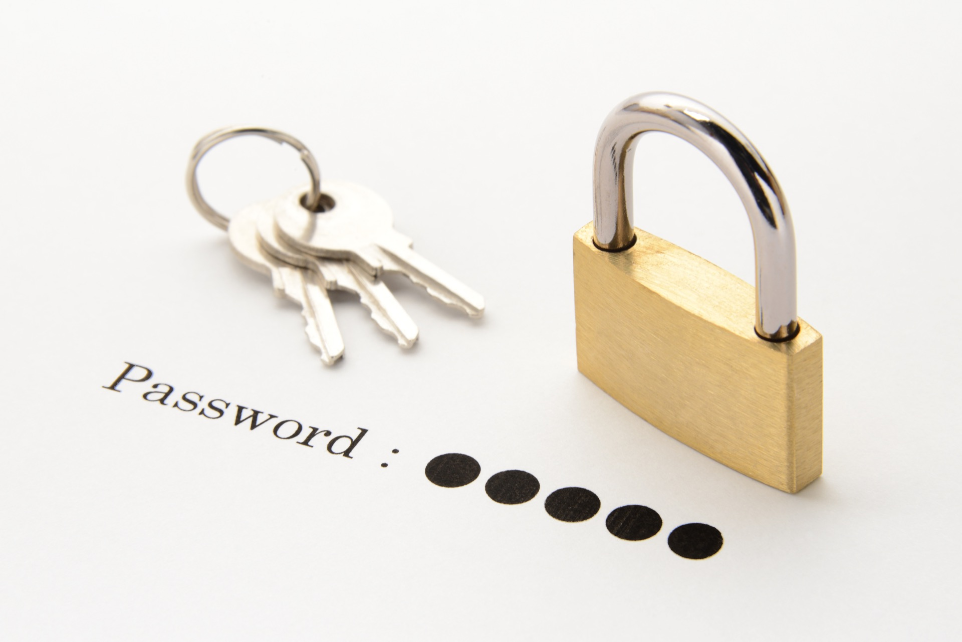 パスワードと鍵